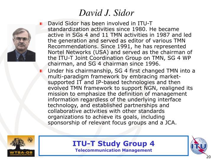 David J. Sidor