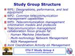 study group structure