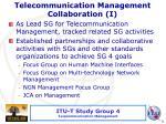 telecommunication management collaboration i