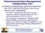 telecommunication management collaboration ii