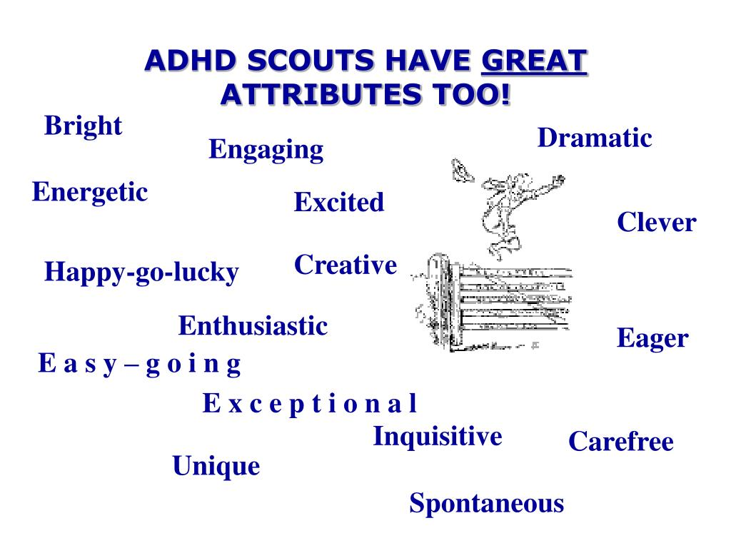 ADHD SCOUTS HAVE