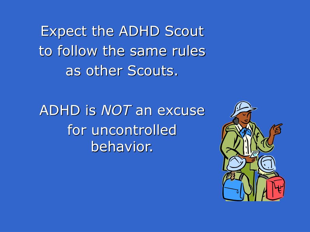 Expect the ADHD Scout
