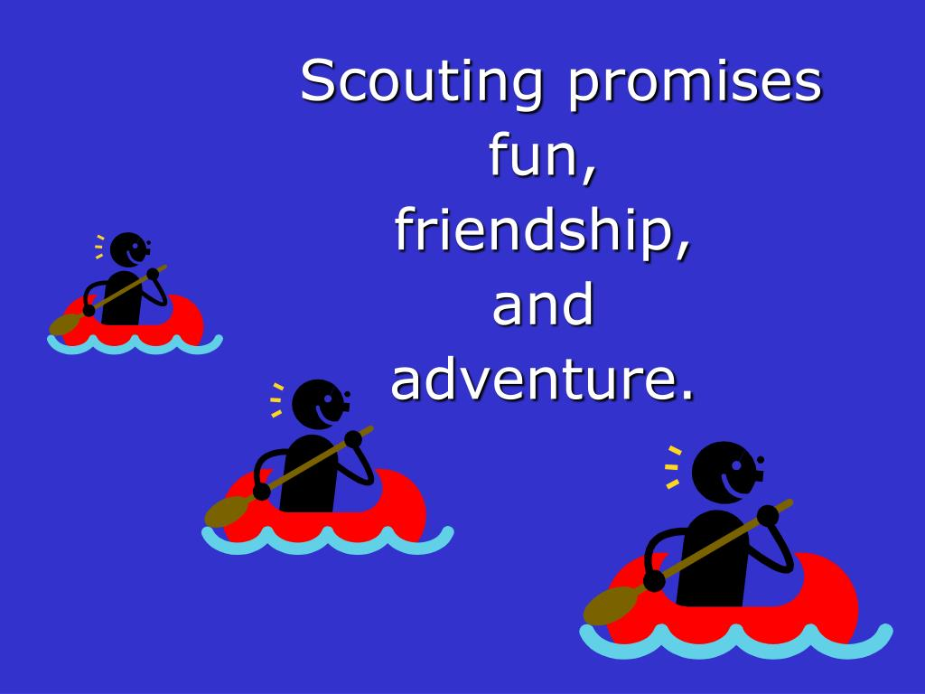 Scouting promises