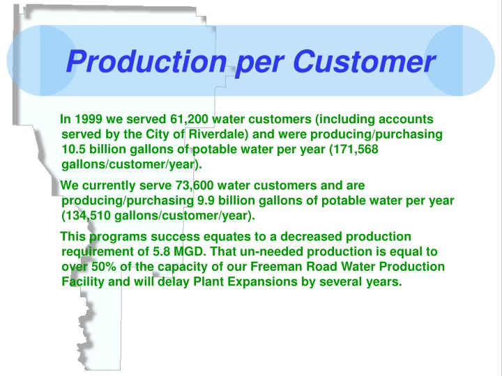 Production per Customer