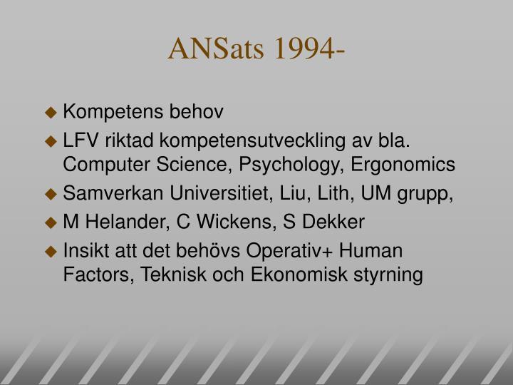 ANSats 1994-