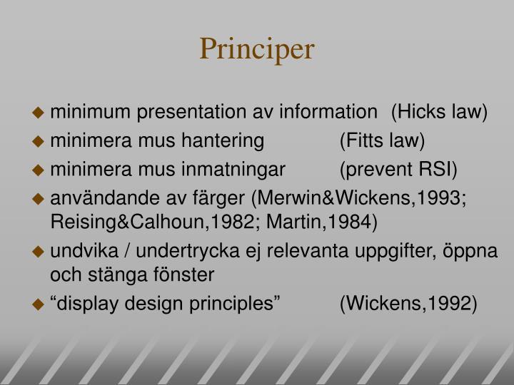 Principer