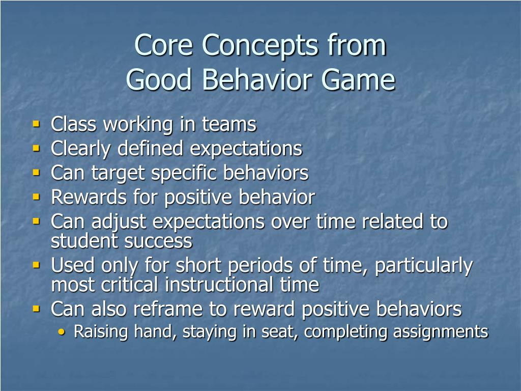 Core Concepts from