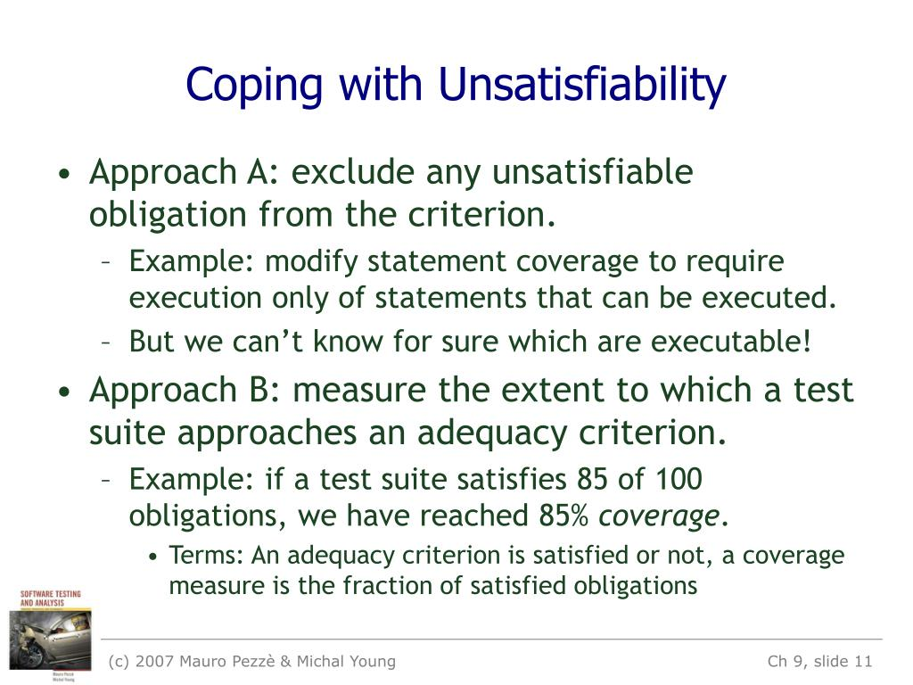 Coping with Unsatisfiability