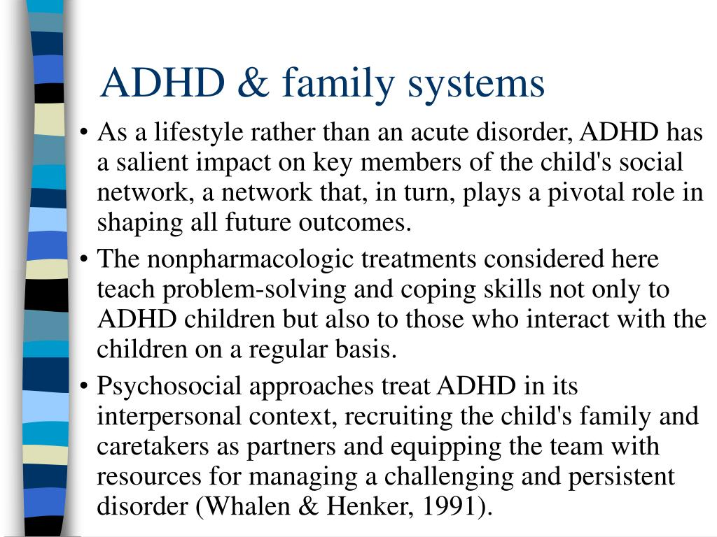ADHD & family systems