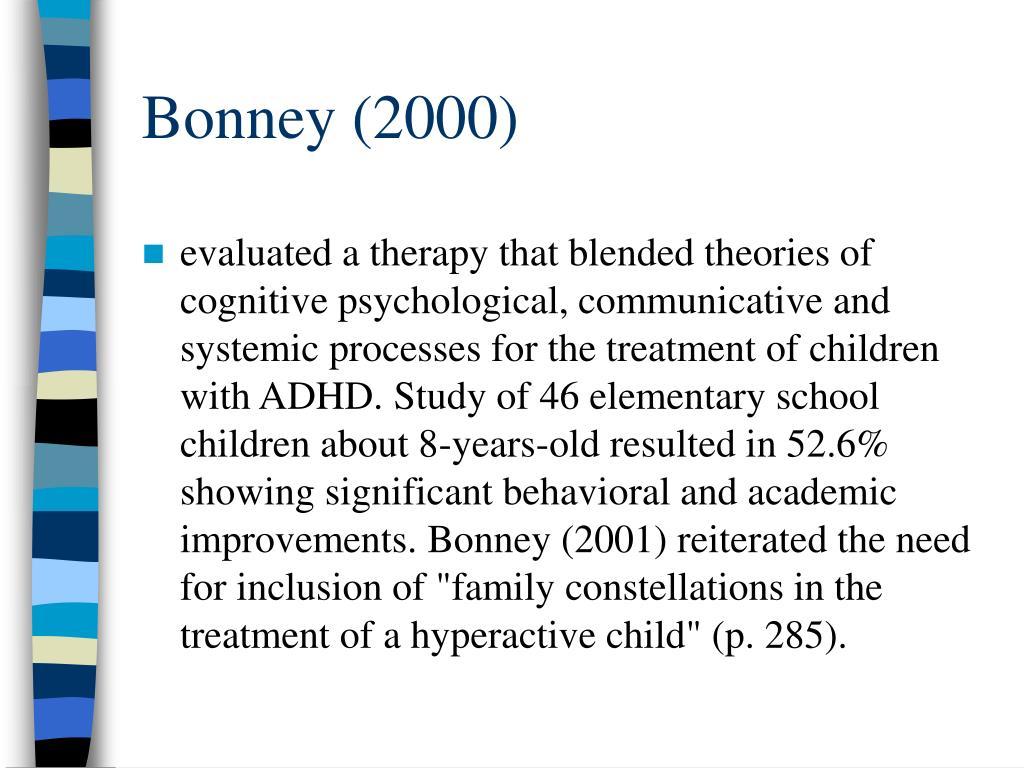 Bonney (2000)
