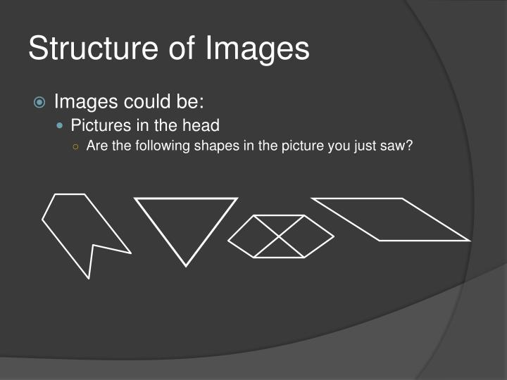 Structure of Images