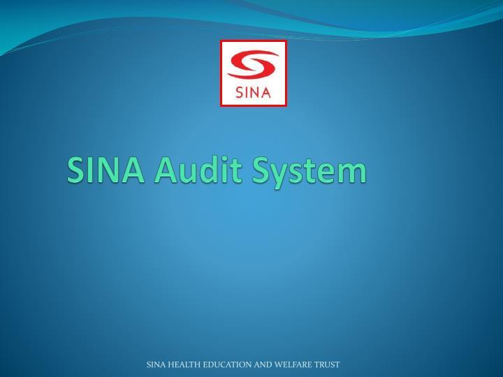 SINA Audit System