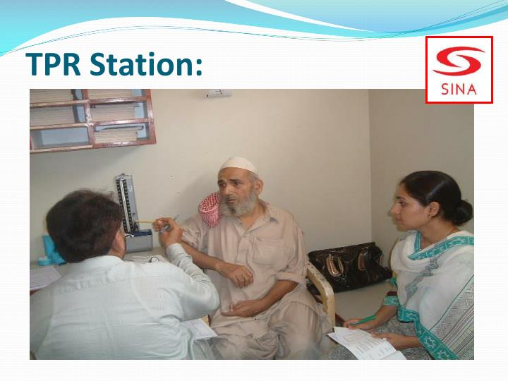 TPR Station: