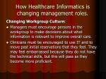 how healthcare informatics is changing management roles12