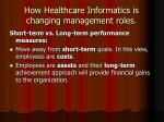 how healthcare informatics is changing management roles13