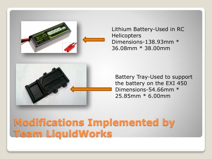 Lithium Battery-Used in RC Helicopters