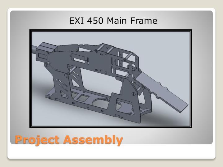 EXI 450 Main Frame