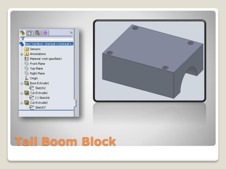 Tail Boom Block