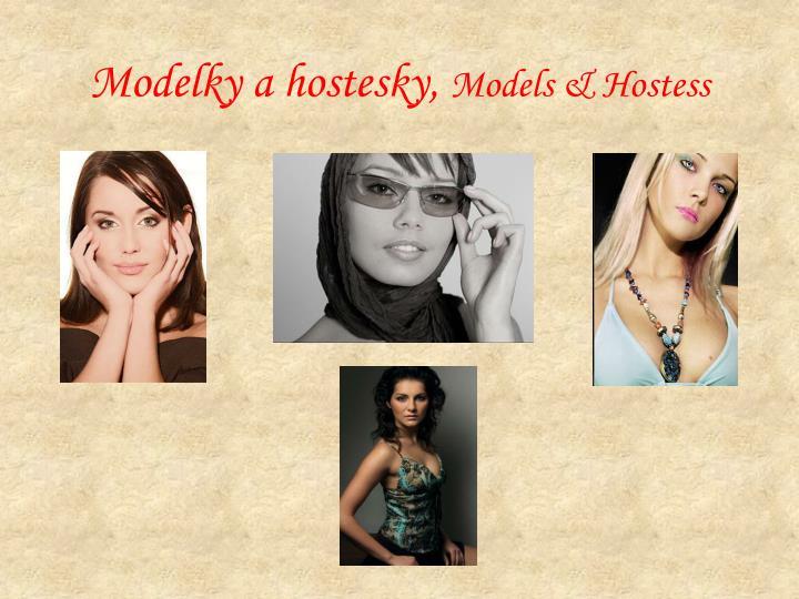 Modelky a hostesky,