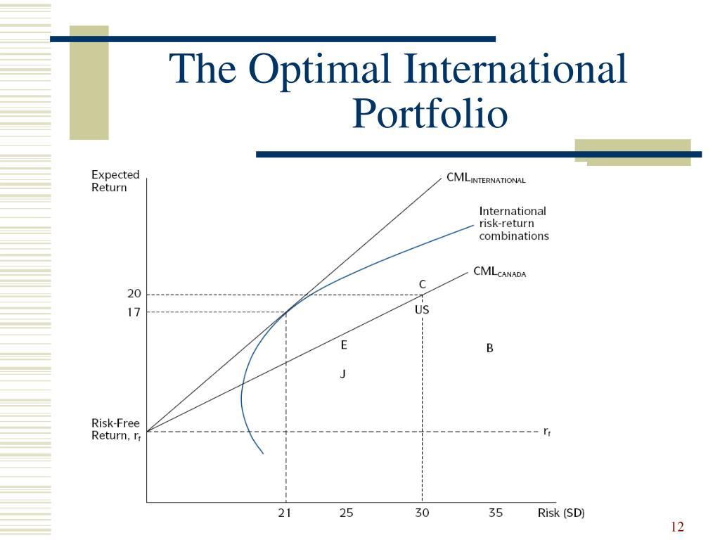 The Optimal International Portfolio