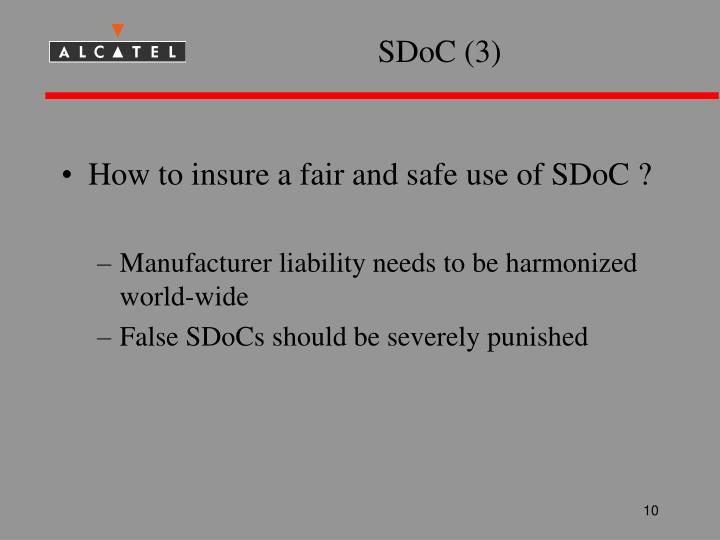 SDoC (3)