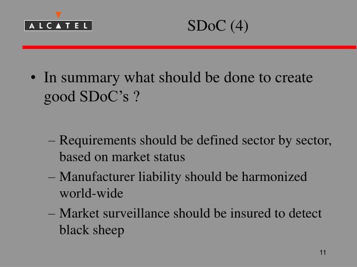 SDoC (4)