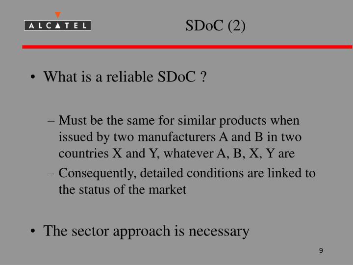 SDoC (2)