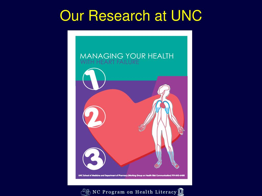 Our Research at UNC
