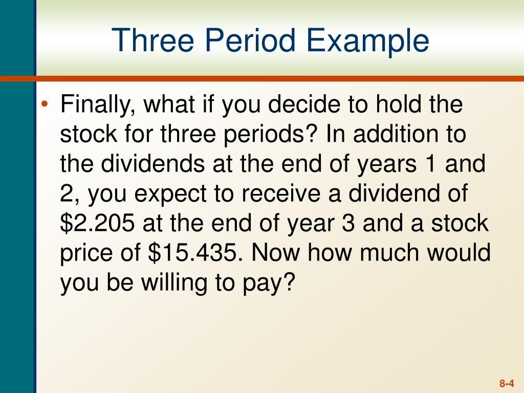 Three Period Example