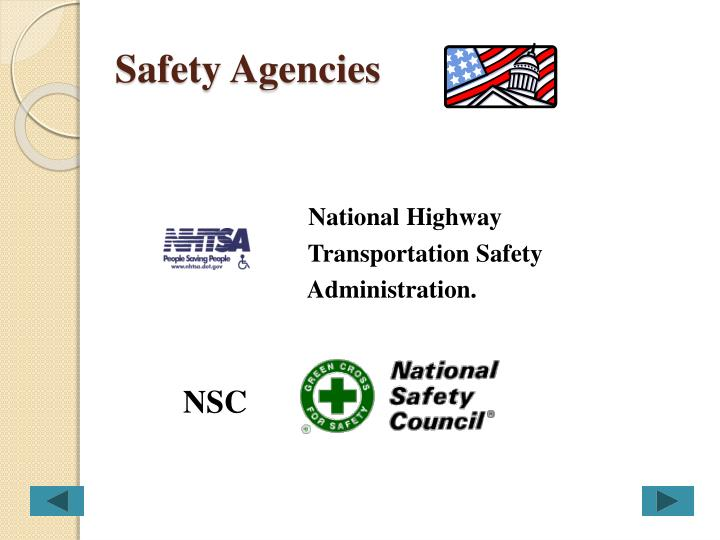 Safety Agencies