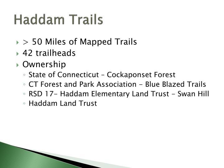 Haddam Trails
