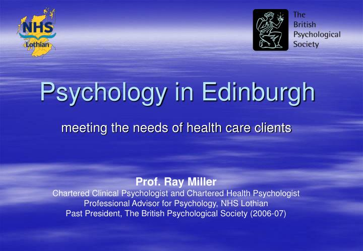 cognitive psychology a meeting of the