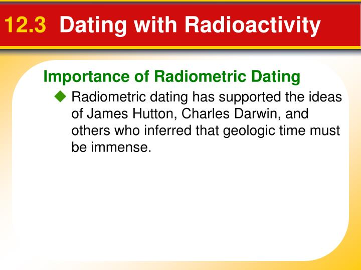 How does radioactive hookup support evolution