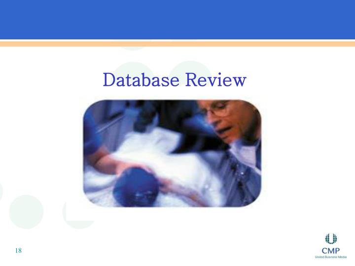 Database Review
