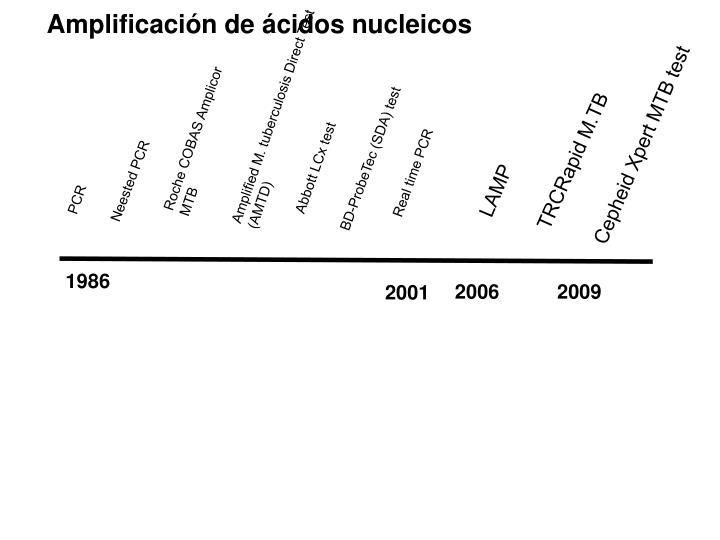 Amplificación de ácidos nucleicos