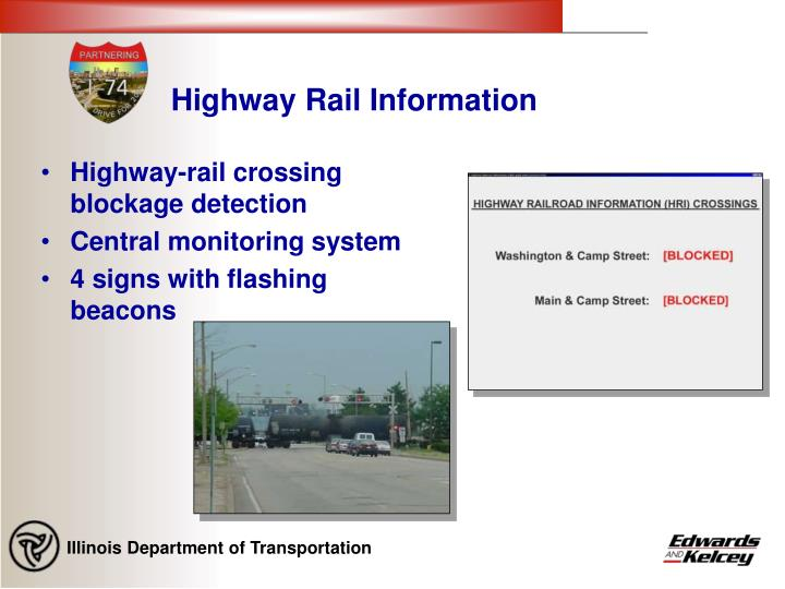 Highway Rail Information
