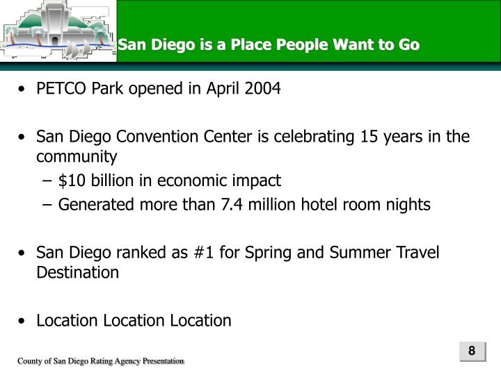 San Diego is a Place People Want to Go