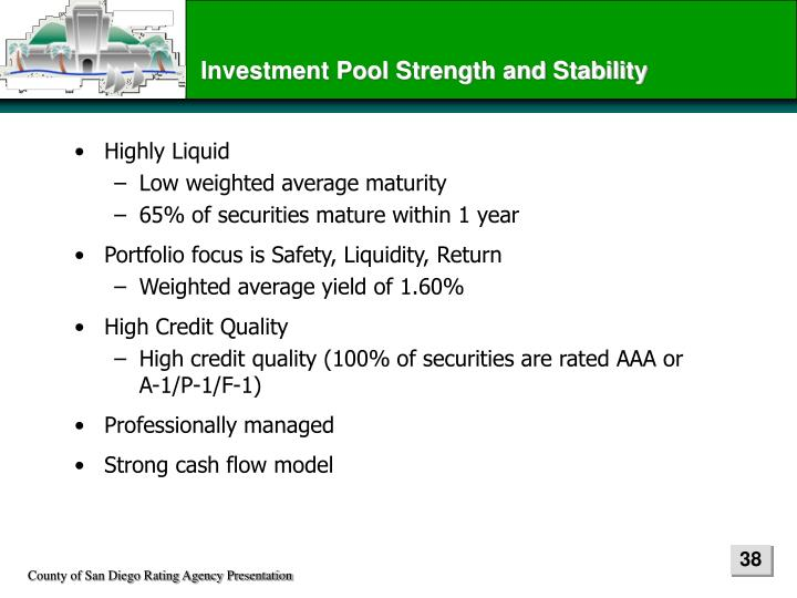 Investment Pool Strength and Stability