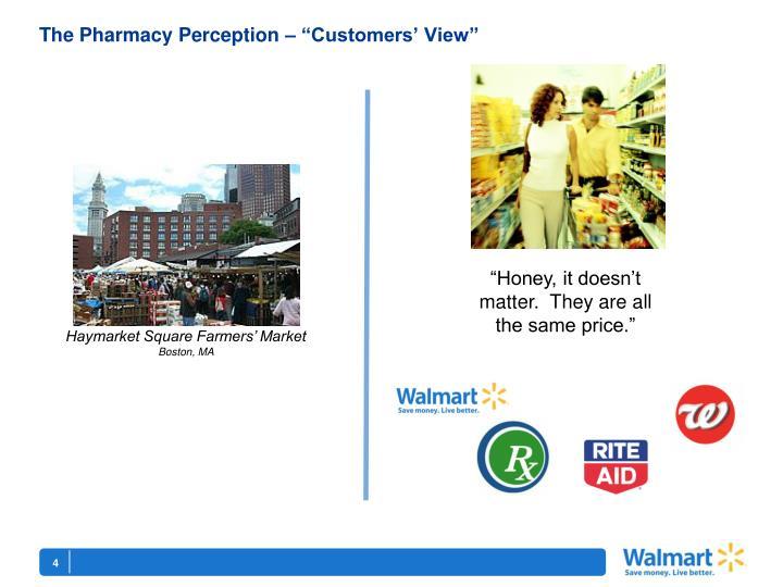 "The Pharmacy Perception – ""Customers' View"""