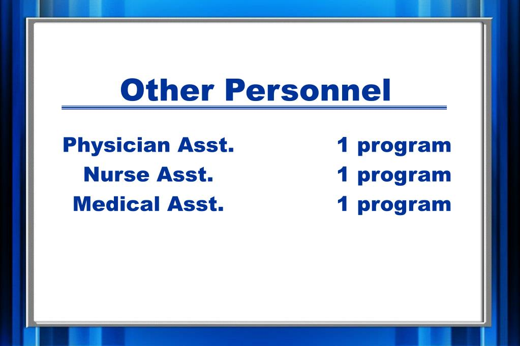 Other Personnel