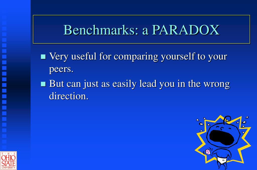 Benchmarks: a PARADOX
