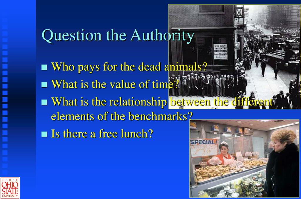 Question the Authority