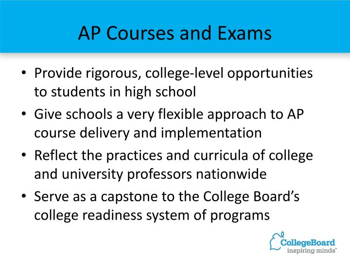 AP Courses and Exams