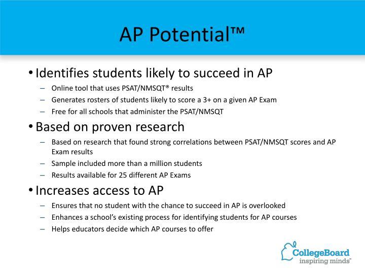 AP Potential™