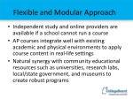 flexible and modular approach1