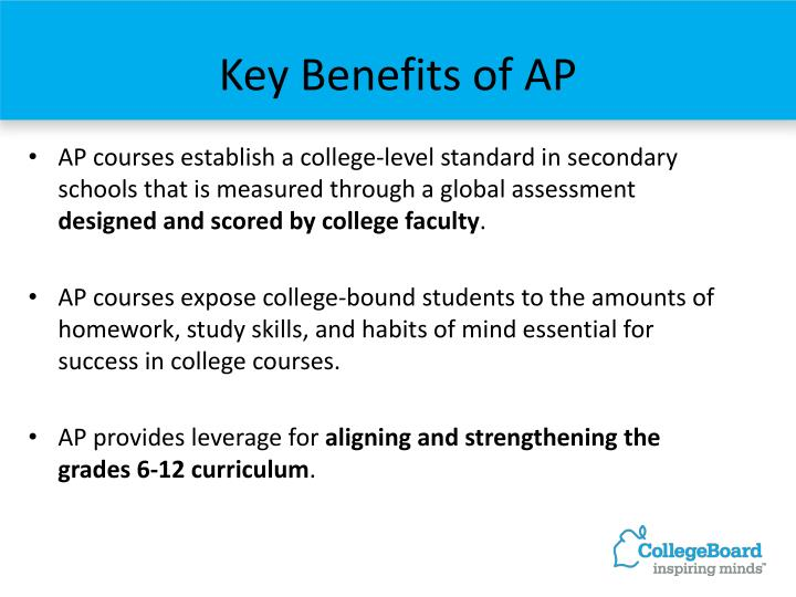 Key Benefits of AP