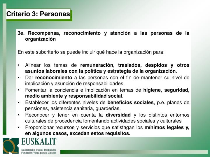 Criterio 3: Personas