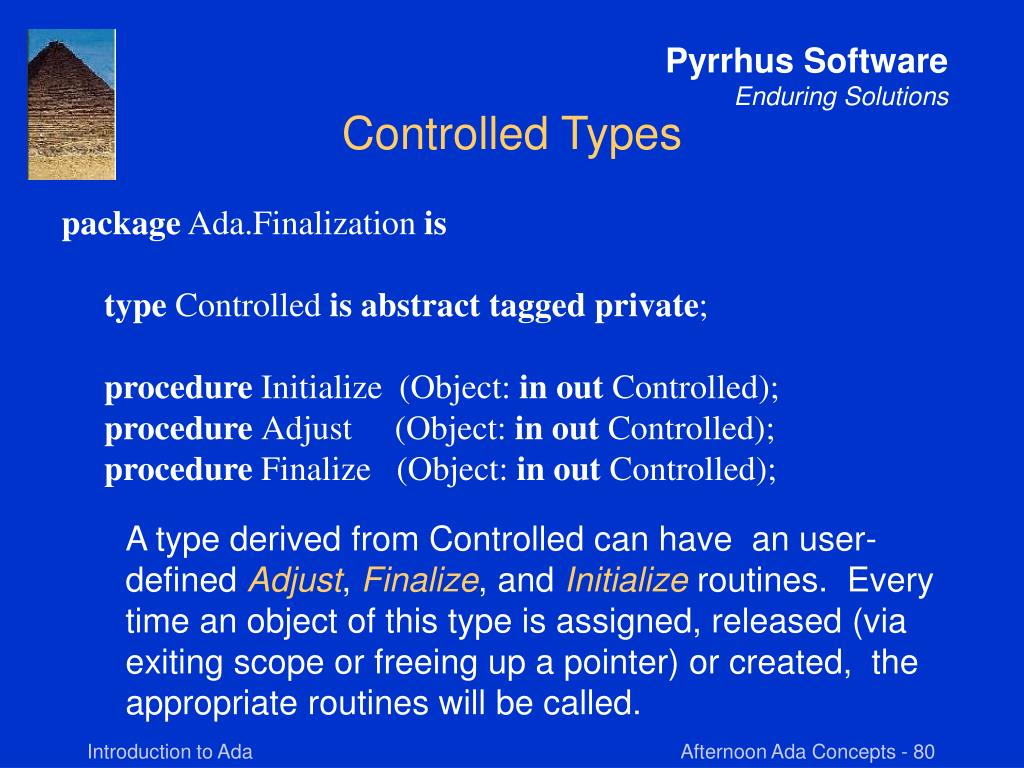 Controlled Types
