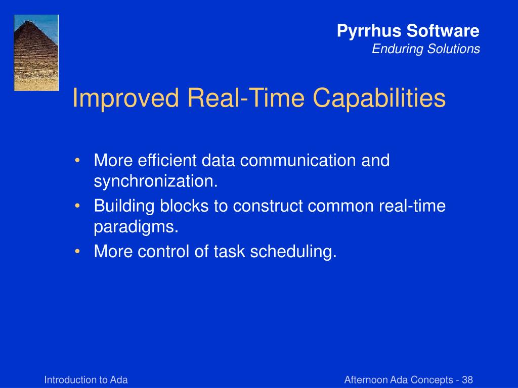 Improved Real-Time Capabilities