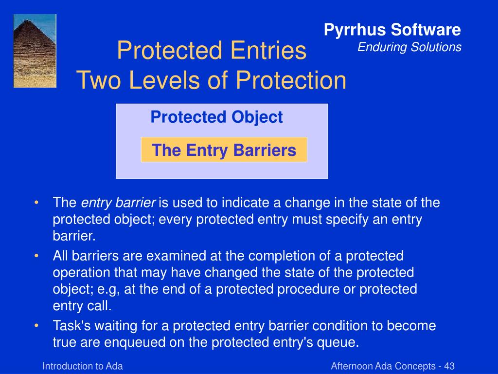 Protected Object